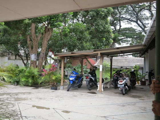 Parking Area of Kost Anoman